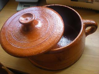 C mo curar una olla de barro - Hoya de cocina ...