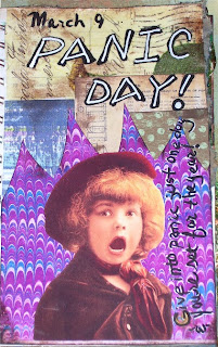 Panic Day -- Give into panic just one day & you're set for the year!