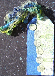 Lisa - Celery/Blue