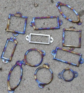 Torched Metal Frames