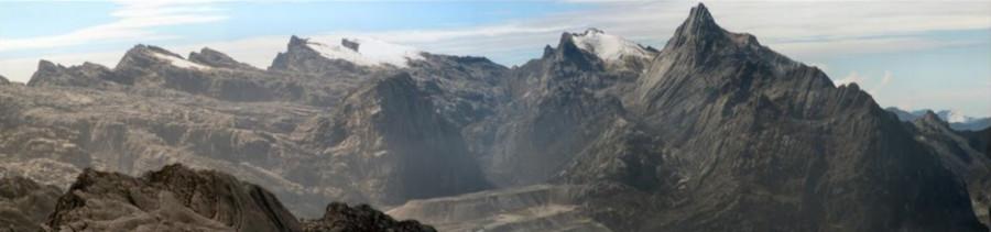 Cartenz Glacier, Puncak Jaya, Papua, Indonesia (4888 mdpl)