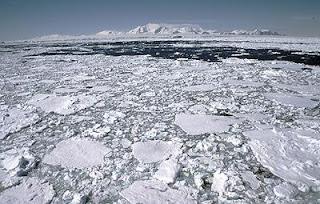 Avión perdido en Antártida