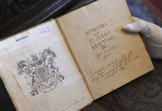 Manuscrito original de William Stukeley.  AP