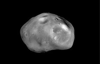 Buscando el origen de Fobos. Foto ESA