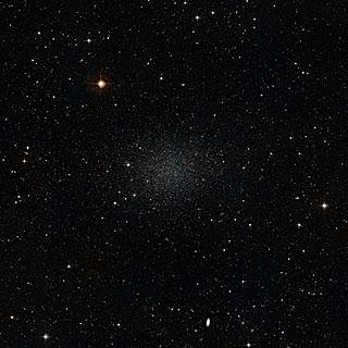 La galaxia enana Sculptor. ESO