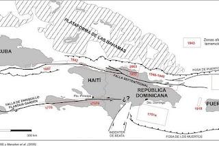 El terremoto de Haití y la geología del Caribe
