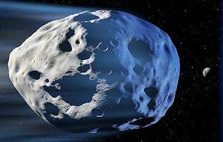 Recreación artística de un meteorito como el que cayó sobre nuestro planeta. Science Photo Library