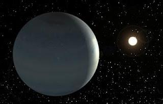 CoRoT-9b orbita alrededor de su estrella central. Instituto de Astrofísica de Canarias