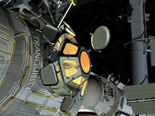Concepto artístico de la Cúpula. Crédito: NASA