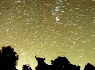 Lluvia de estrellas de las Perseidas. EFE