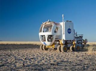 Prototipo del Rover Eléctrico Lunar que está desarrollando la NASA