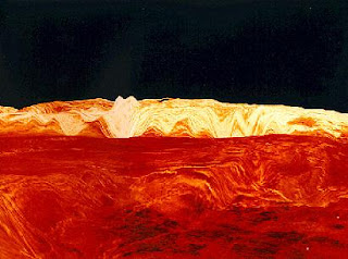 Los Montes Maxwell en Venus. NASA
