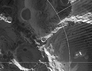 El cráter Faustini, donde la temperatura llegó a -397º C. AP/NASA