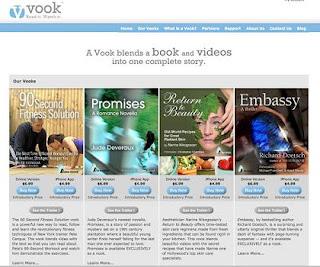 Vook, un formato de e-book cercano al videolibro