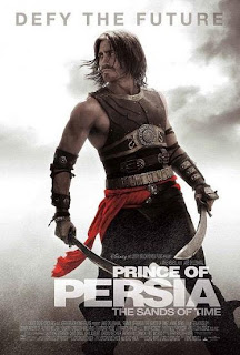 Jake Gyllenhaal afila su espada en El Príncipe de Persia