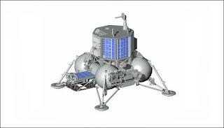 La plataforma construida en Rusia depositará en la Luna al robot indio