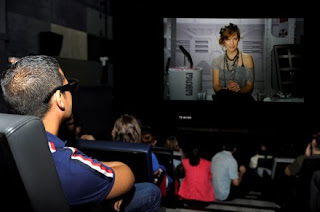 Milla Jovovich presenta en 3D la cuarta entrega de la saga Resident Evil