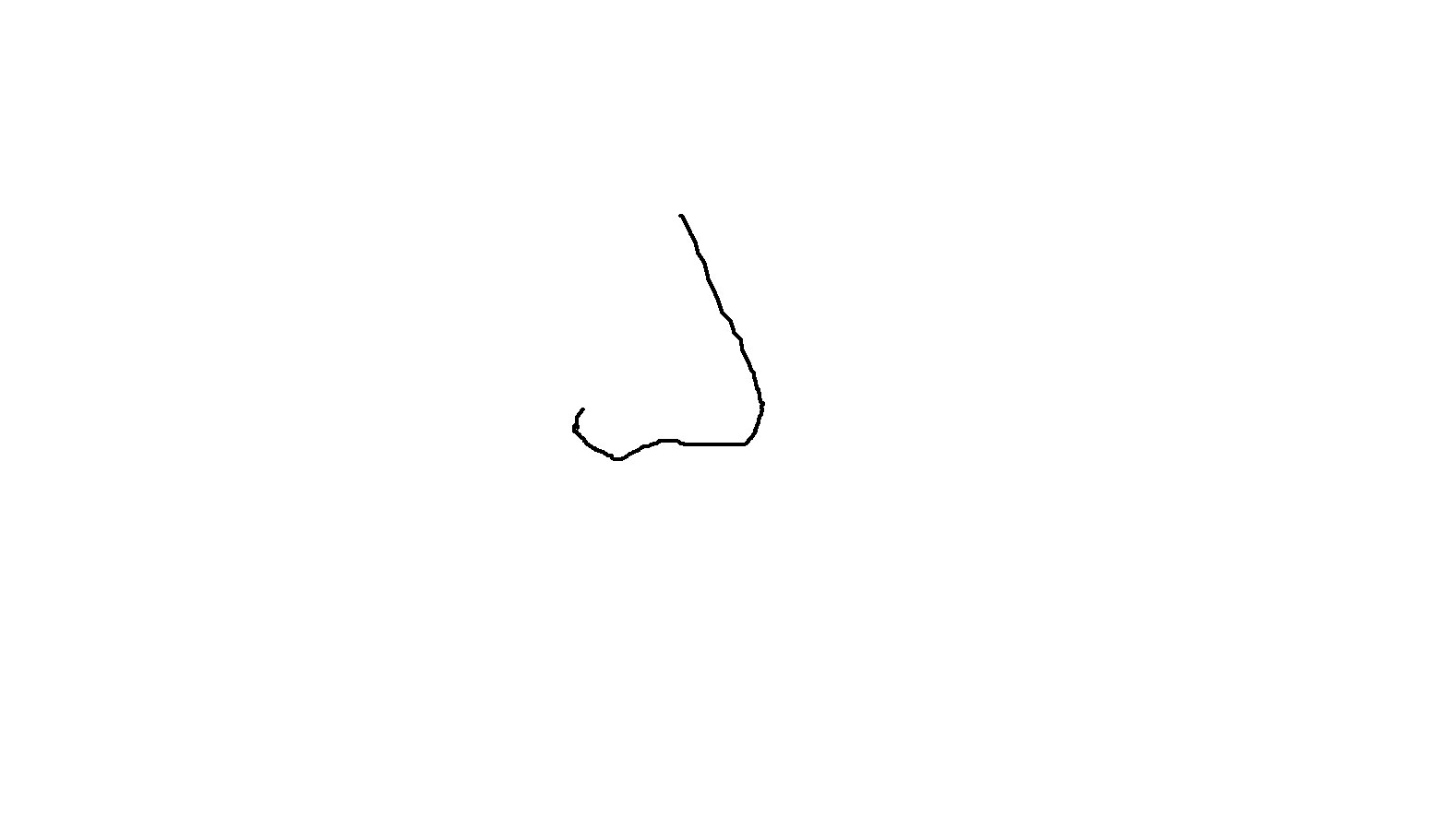 Line Drawing Nose : More drawings of noses drawing a simple cartoon nose pictures