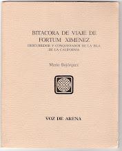 Bitácora de viaje de Fortúm Ximénez