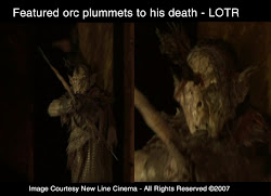 RJ was a featured Orc on Lord of the Rings. This was for shown in the first LOTR trailor