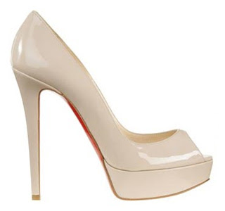 needs a pair of NUDE PUMPS