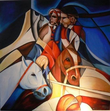 """paarden """"DIAMOND HORSES"""""""