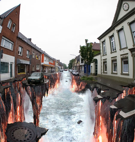 Beauty 3d Street Art