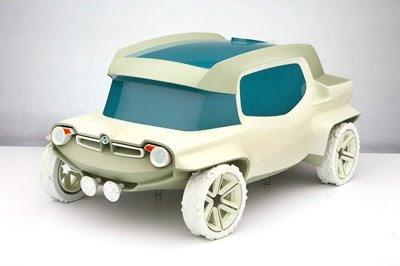 Прикольная 3D модель НИВЫ (возможно)