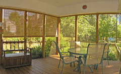 Screened porches for lake living