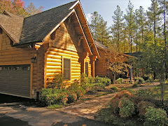 Awesome waterview log home!