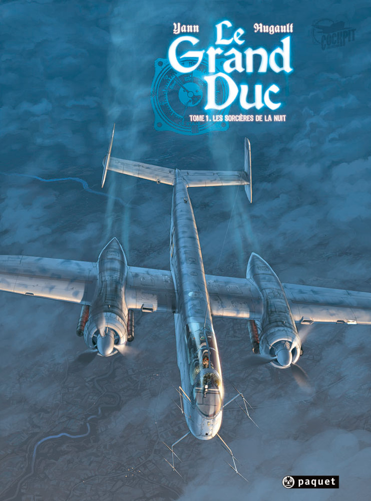 "BD WWII ""Le Grand duc"" T1 Cover"