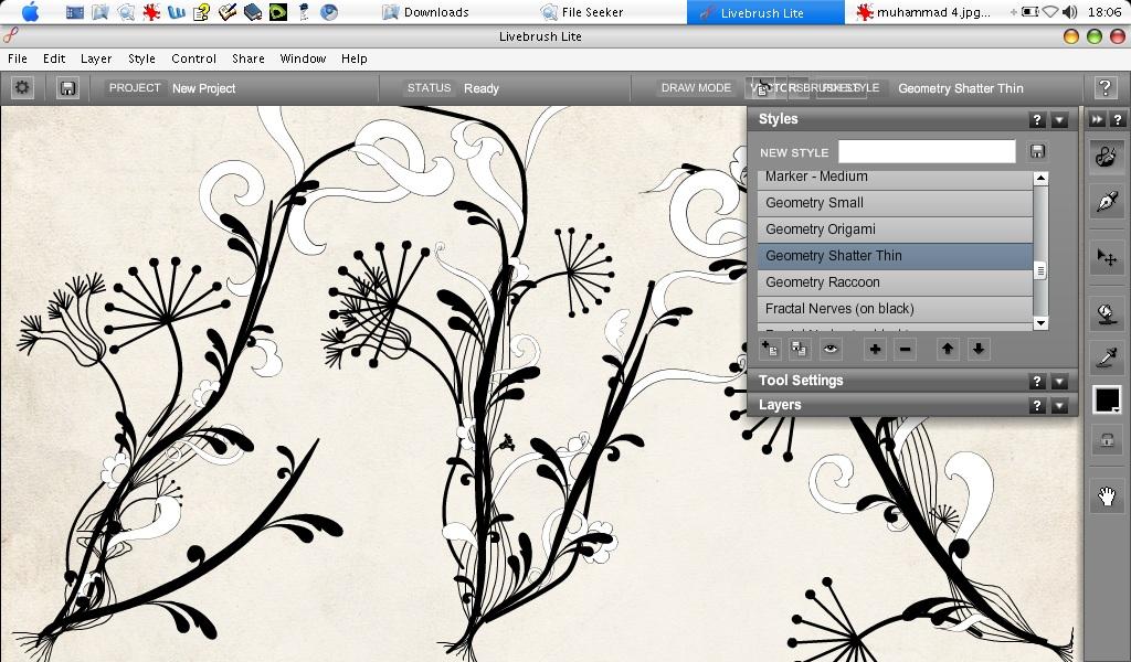 Livebrush : Bisa Buat Kaligrafi Hingga Barangkali Undangan Nikah