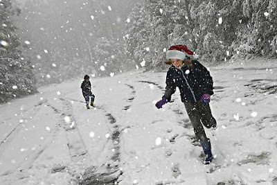 Christmas Snow Picture Singapore on Snows In December It Sits On A Hilltop Where The Treetops Glisten
