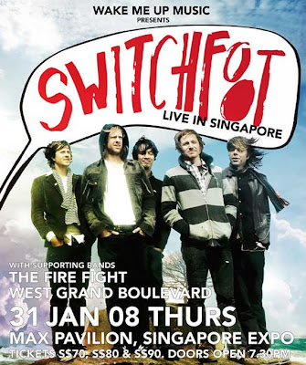 Singapore Expo plays host to a one-night-only Switchfoot concert