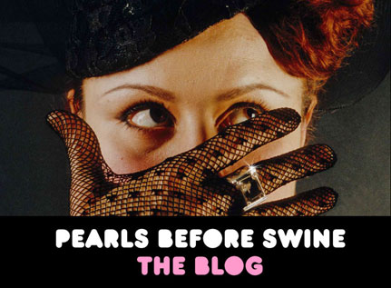 pearls before swine: the blog