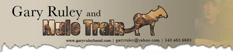 Gary Ruley & Mule Train