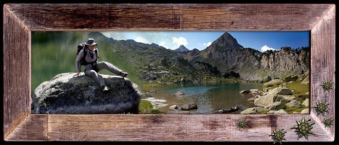 Montañas de montañas y otras cosas bonitas al filo de lo pisable