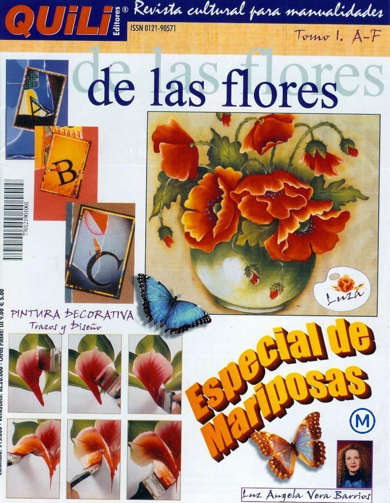 Revistas de Manualidades Para Descargar: Quili de las Flores Tomo 1
