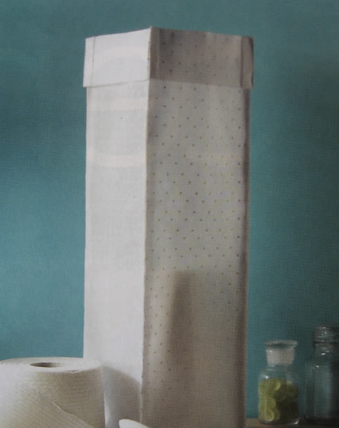 Decorando ambientes manualidades for Accesorios para bano papel higienico