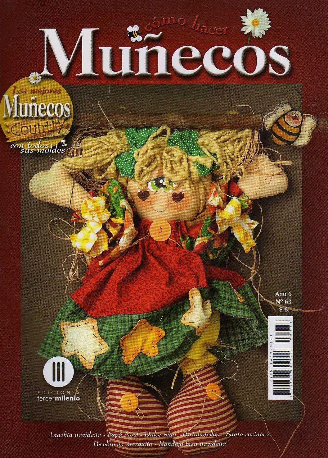 ... 1474 jpeg 475kB, Muecos Country Navideos Moldes De Muecos Country
