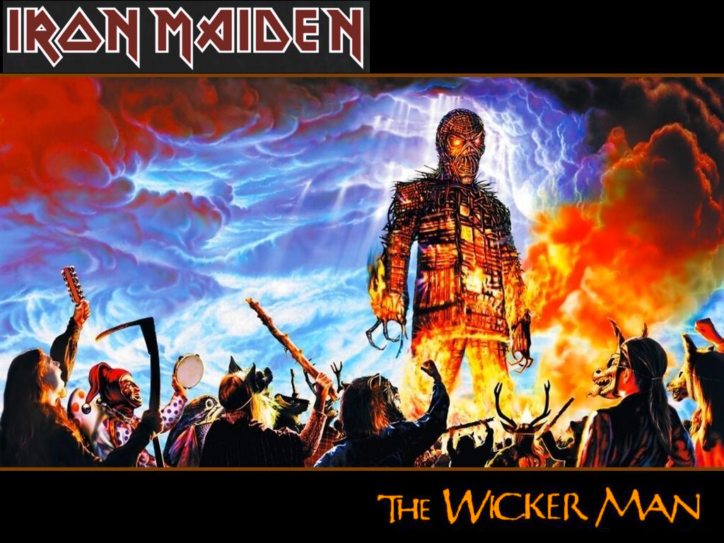 the wicker man single iron maiden Lyrics to the wicker man (live) song by iron maiden: hand of fate is moving and the finger points to you he knocks you to your feet and so what are you g.