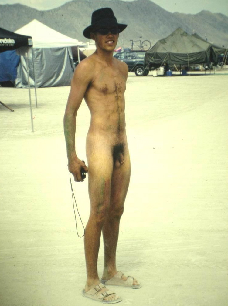 Hippies Parading Naked For