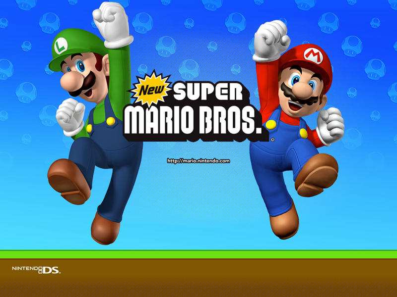 Wii. I got us Super Mario Brothers