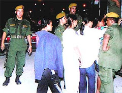 Arrested Burmese Ladies