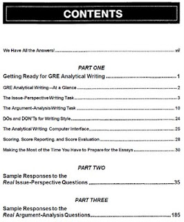 GRE analytical writing section information  covering the two essays you  have to write   analyze an issue and analyze and argument The GRE essay  section