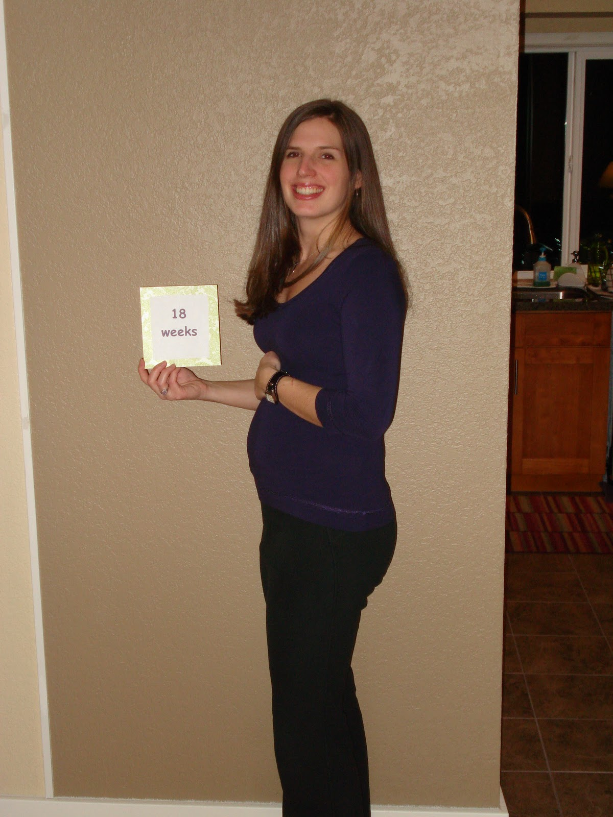 Christen Family: 18 weeks Pregnant- December 5, 2010