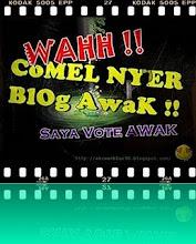 award blog comel