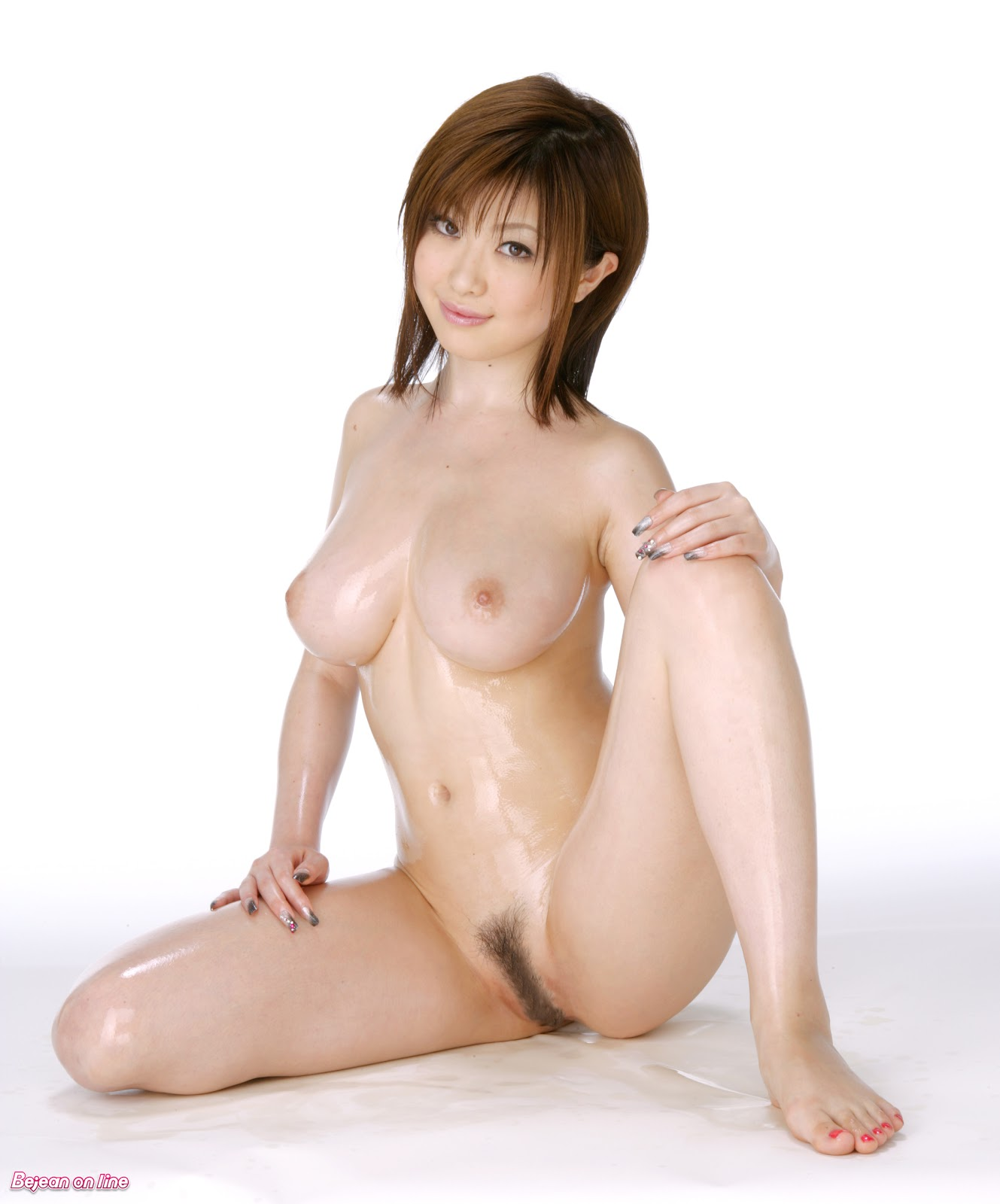 Naked Japan girl something