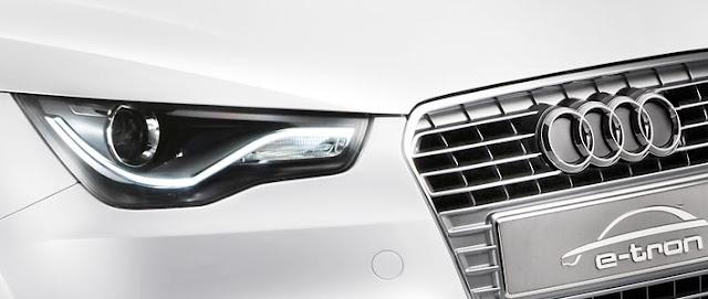 Audi A1 e-tron photos