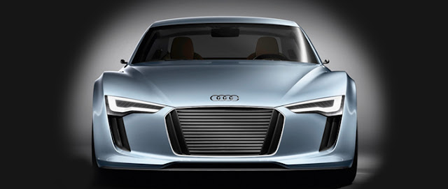 Audi e-tron vehicle design